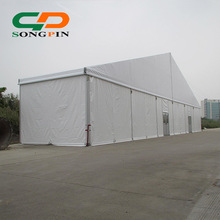 30x50m Large temporary indoor wedding marquee tent with glass door for banquet event