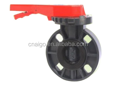 Electric/motorized actuator PVC Plastic Ball Valve