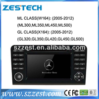 "ZESTECH 7"" Touch Screen Car DVD GPS Navigation For Mercedes ML Class W163 (2000-2004) Car DVD GPS Navigation Player"