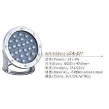 Best price 24w W swimming pool underwater light underwater led light for fountain