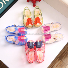 Summer Mini Melissa Shoes ice cream cute Jelly Shoes Of Kids Girl Shoes