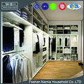 Contracted and Luxury Hanging Clothes Closet Bedroom Furniture with Lights