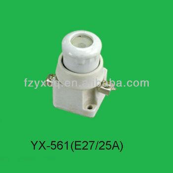 Ceramic Fuse Holder Yx-561 (e27/25a)
