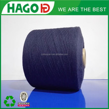 Ne14s carded polyester viscose cotton yarn for knitting machine