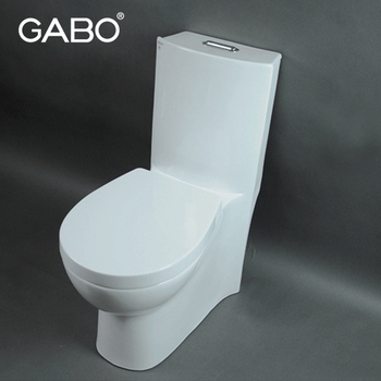 White Colored Children Standard Dimensions Size Toilet Bowl