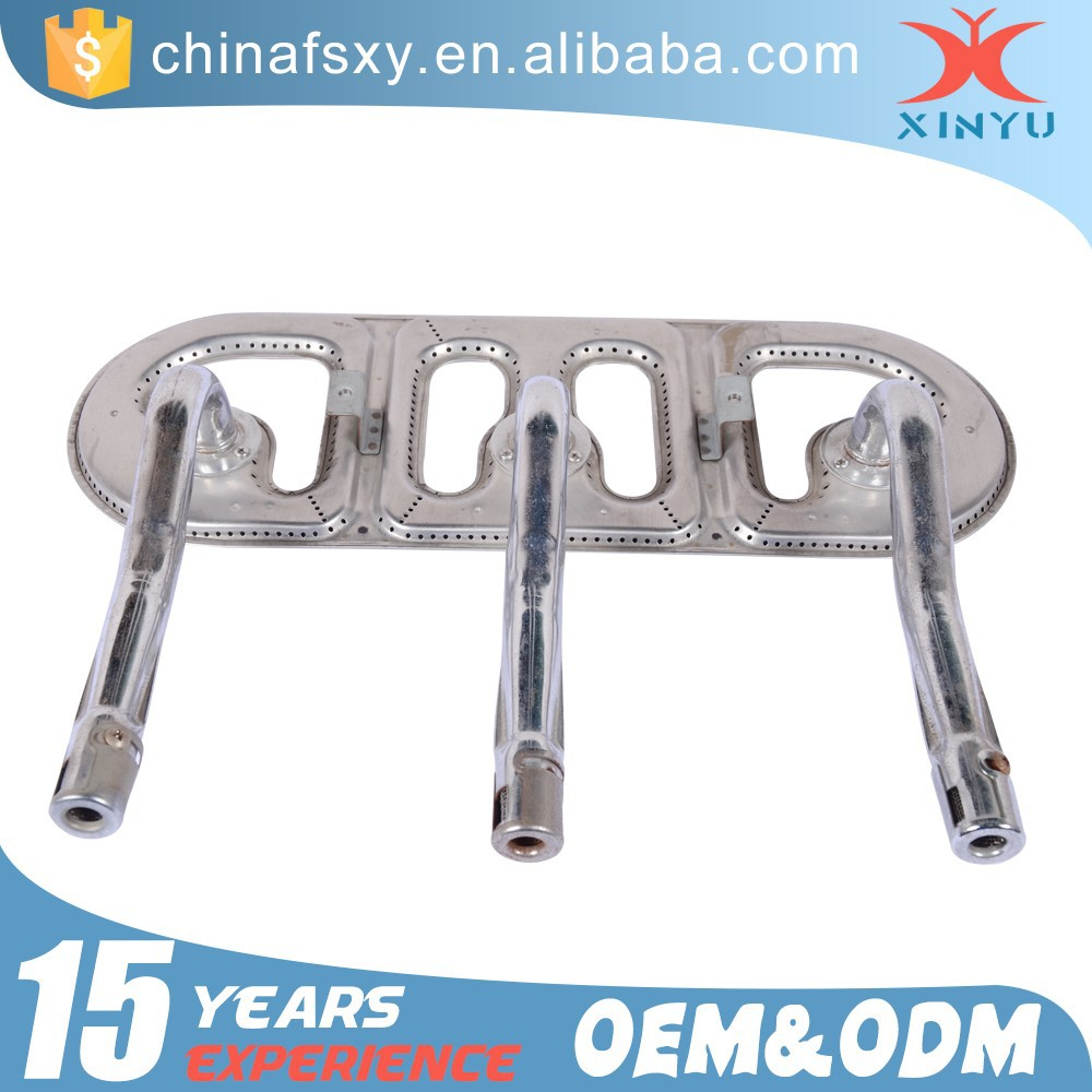 High Quality Barbecue Grill Parts 304 Stainless Steel Gas BBQ Burner