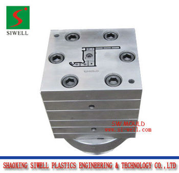 Plastic window frame mould