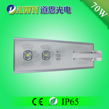 70W integrated all in one solar led lights solar street light fluorescent lights floodlight