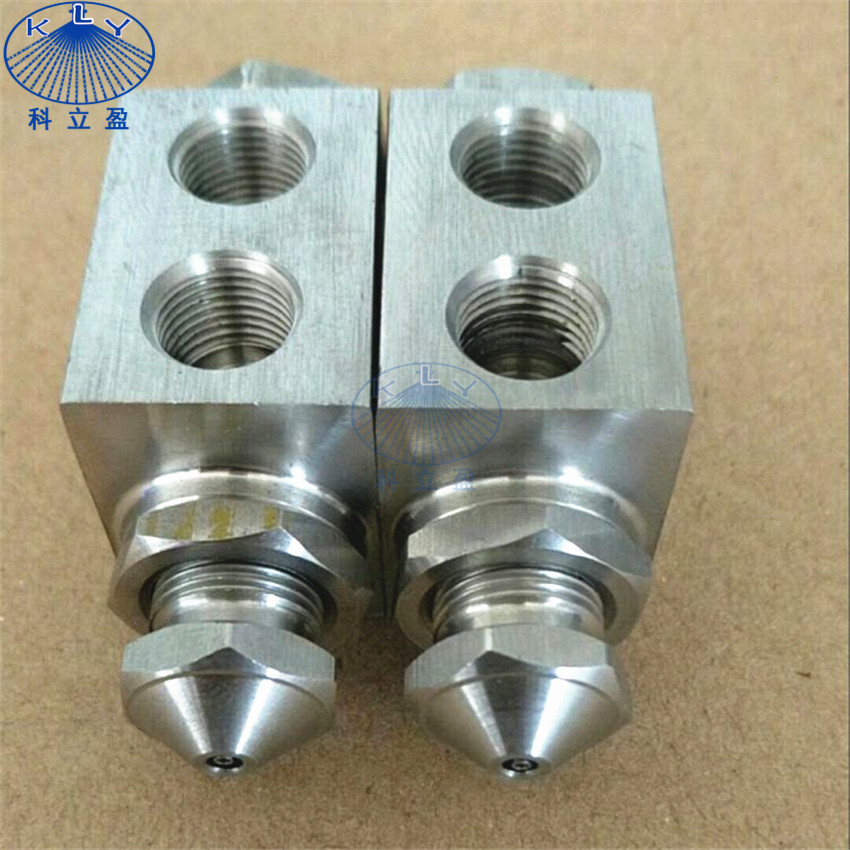 303SS air atomizing nozzle for dust suppression, cooling