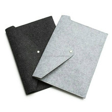 Hot sale felt A4 Paper File Folder bag felt laptop sleeve case
