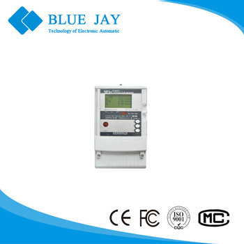 DTSD341-9D Three Phase High Accuracy Gateway Meter 6 types load curves 4MB 100V 220V 380V RS485/infrared 1.5-10A