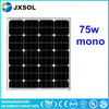 Small Mono Crystalline Silicon Photo Voltaic Solar Cells 75w mono mini solar panels