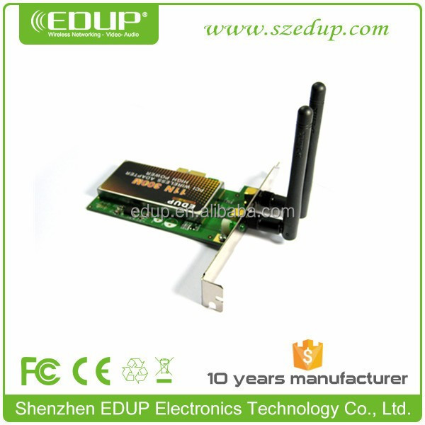 EDUP PCI Express 802.11N 300M Wireless Card Wifi Lan Adapter