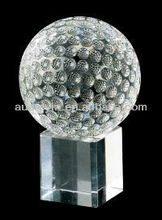 Customized design crystal ball for stairs