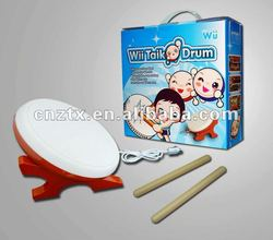 Hot item electric wired taiko drum for Wii wholesale