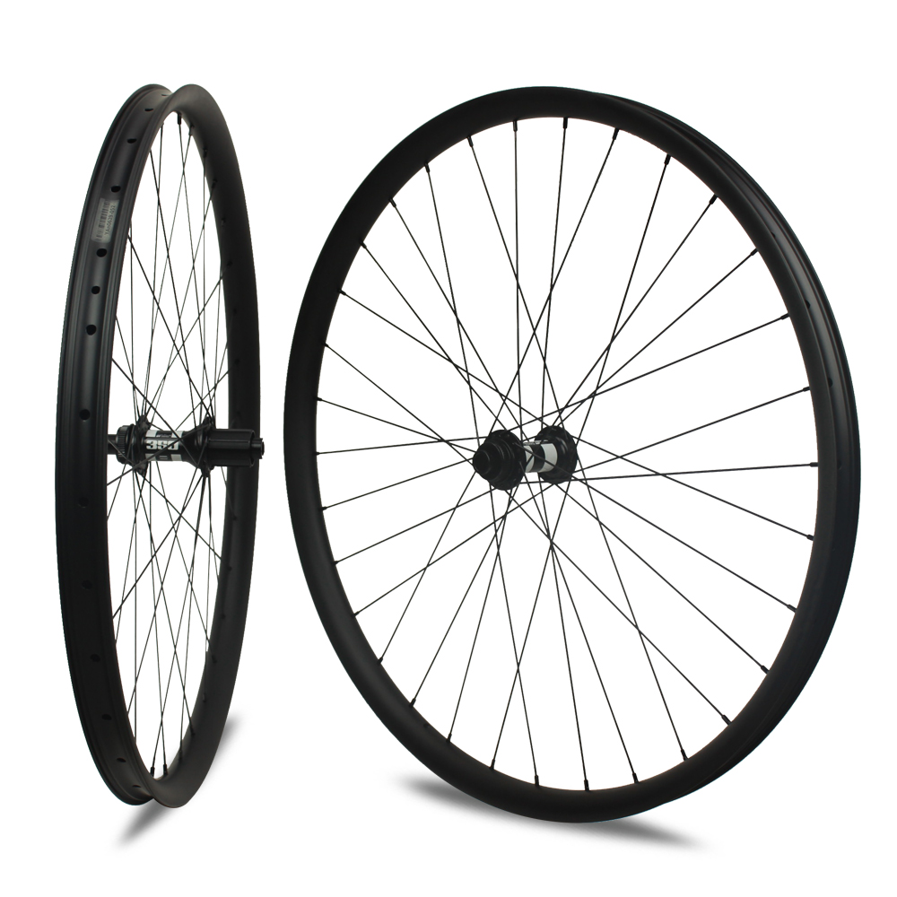 Chinese Carbon MTB Wheels 29er 36mm Width Mountain Bike Carbon Wheels 29 for DT Swiss 350s Barrel shaft Hub