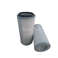 China Supply Dust Collector Filter Chimney Smoke Filter Activated Carbon Hepa Purifier Air Filter