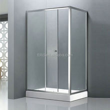 china shower room TB-T3310 simple glass cheap chinese sanitary ware china shower room