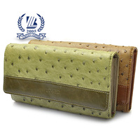 2014 hottest PU ostrich leather women wallets