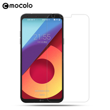 Mocolo 2017 New Product Mobile Accessory 9H Tempered Glass Transparent Anti-Scratch Screen Protector for LG Q6
