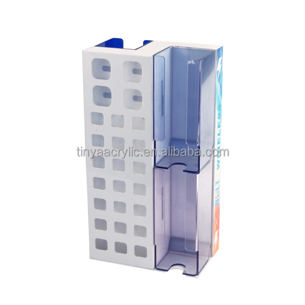 Wholesale lot 50 +4 free big space Top Acrylic mobile Cell Phone Accessories Display Rack for phone car & home chargers