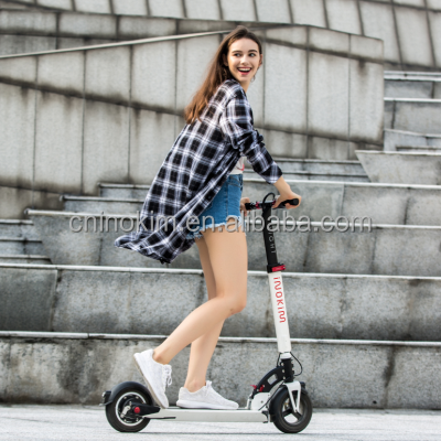 Unique design easy riding and folding 2 Wheels foldable electric chariot scooter
