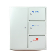 Embedded wall cold-rolled FTTH Accommodating multiple networks Splitter Fiber Optic Distribution Box