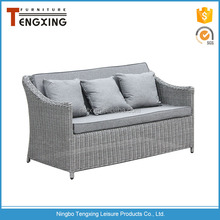 China wholesale fashion design affordable poly outdoor rattan furniture for sale