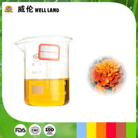 Oil soluble green and healthy liquid lutein colorant
