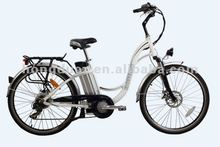 electric city bike,electric bicycle ,lithium battery.250W motor.