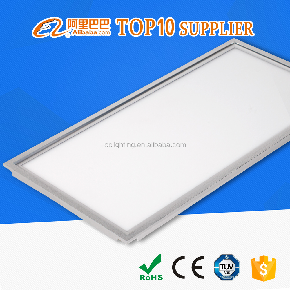 Factory Price 72W smd 2835 Aluminum led light panel 1200x600 with CE RoHS