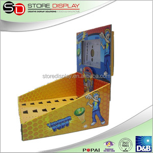 Knickknack Counter display unit Corrugated display stand Book Counter Display