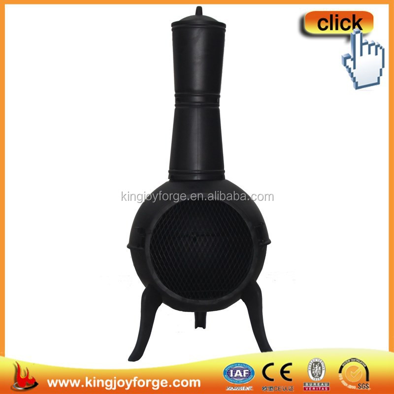 cast iron chimenea easy to use and with different colors