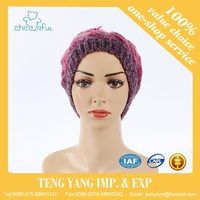 Cheap price promotional bright color fine plastic rain hat tigger animal crochet pattern hat