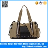 Big size new designer handbags duffel bag for travelling canvas bag with PU part