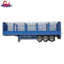 China Well Known Brand Fence cargo Semi Trailer
