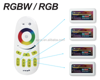 Hot sale RGB led strip controller 2.4G 12 /24V 4 zone touch Dimmer RF RGB led controller milight wifi controller