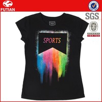 Fashion Summer China Cheap Promotional T Shirts Plain woman t shirt wholesale cheap # FT16X022