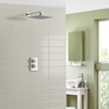 Anti-scalding thermostatic walk-in solar water showers thermostatic shower faucets thermostatic smart shower