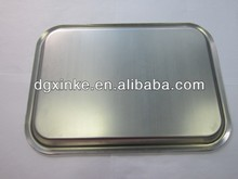 OEM sheet metal stamping Banquet food serving trays for hotel & restaurent
