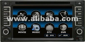 TOYOTA YARIS CAR DVD PLAYER HEADUNIT