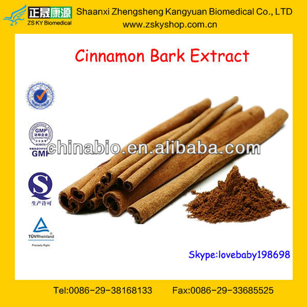 GMP Factory Supply High Quality Cinnamon Bark Extract Powder