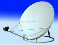 Stand wear and tear KU 120cm outdoor dish antenna for satellite Tv