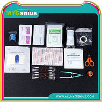 traveling outdoor survival first aid kit ,ML0138, emergency kit bag