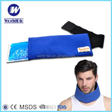 Microwave hot cold gel pack with adjustable Wrap