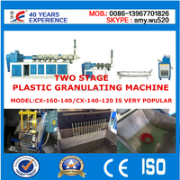 FACTORY PRICE PLASTIC RECYCLING AND EXTRUDING MACHINE