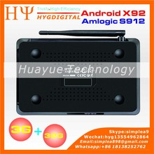 [Genuine] 3G 32G X92 Smart Android 6.0 TV Box Amlogic S912 Octa-core 2.4GHz 5.8GHz WiFi BH 4.0 4K Media Player 1000M LAN