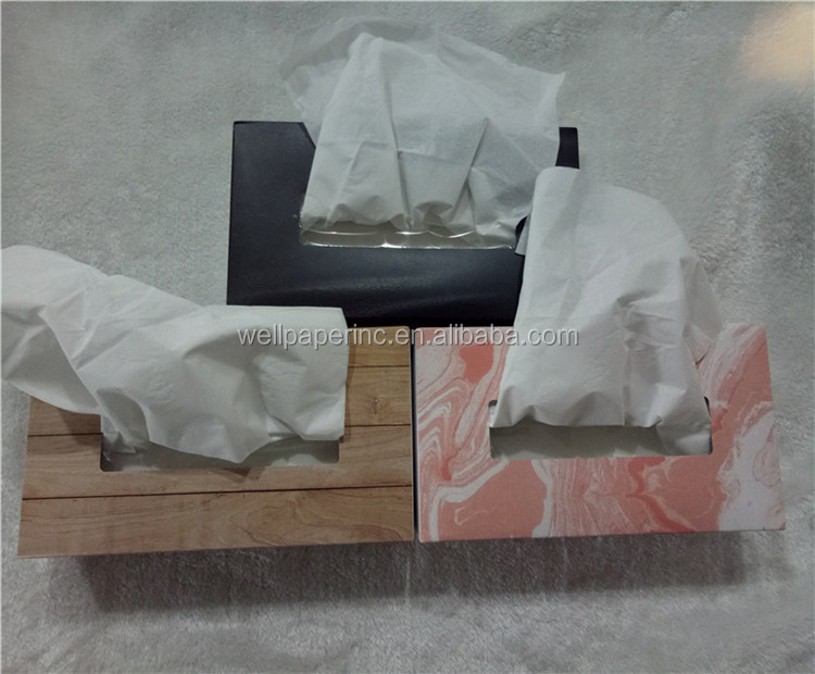 100 sheets virgin wood pulp box pack facial tissue