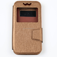 Hot sale universal leather case for 5 inch smartphone,tpu hooks universal leather case