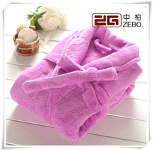 Super Soft Coral Fleece Fabric Wholesale Kids Bathrobe